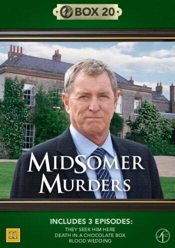 Image of   Kriminalkommissær Barnaby / Midsomer Murders - Box 20 - DVD - Tv-serie