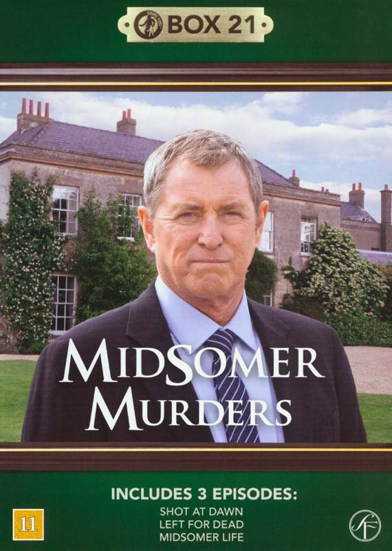 Image of   Kriminalkommissær Barnaby / Midsomer Murders - Box 21 - DVD - Tv-serie