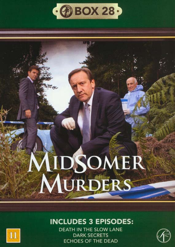 Image of   Kriminalkommissær Barnaby / Midsomer Murders - Box 28 - DVD - Tv-serie