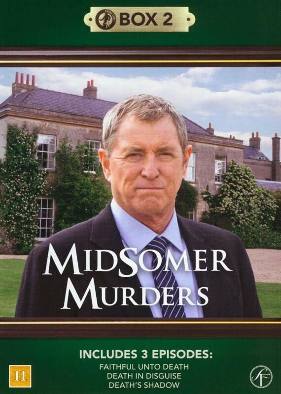 Image of   Kriminalkommissær Barnaby / Midsomer Murders - Box 2 - DVD - Tv-serie