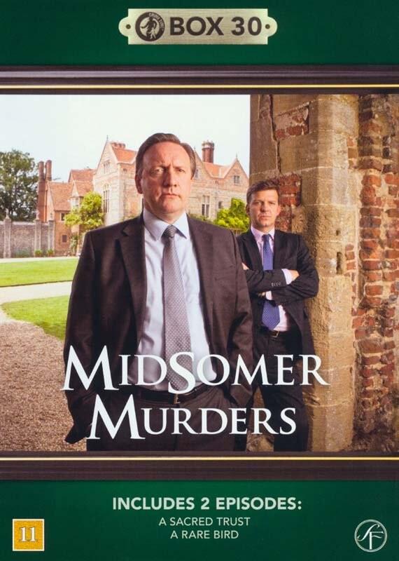 Image of   Kriminalkommissær Barnaby / Midsomer Murders - Box 30 - DVD - Tv-serie