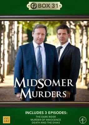 Image of   Kriminalkommissær Barnaby / Midsomer Murders - Box 31 - DVD - Tv-serie