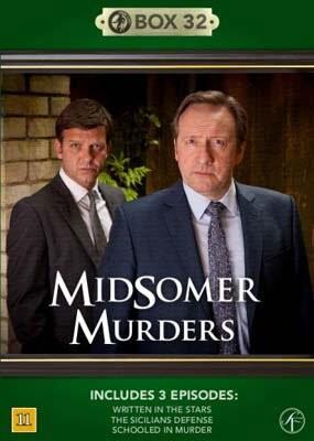 Image of   Kriminalkommissær Barnaby / Midsomer Murders - Box 32 - DVD - Tv-serie