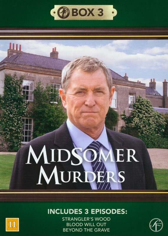 Image of   Kriminalkommissær Barnaby / Midsomer Murders - Box 3 - DVD - Tv-serie