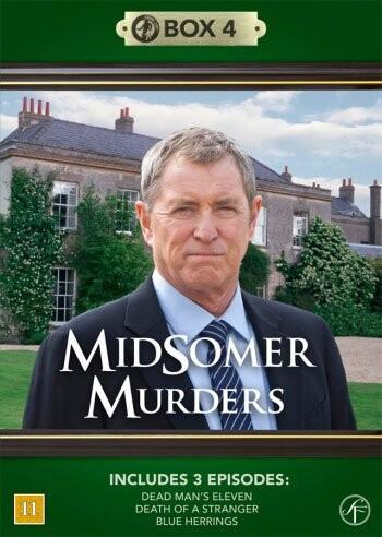 Image of   Kriminalkommissær Barnaby / Midsomer Murders - Box 4 - DVD - Tv-serie