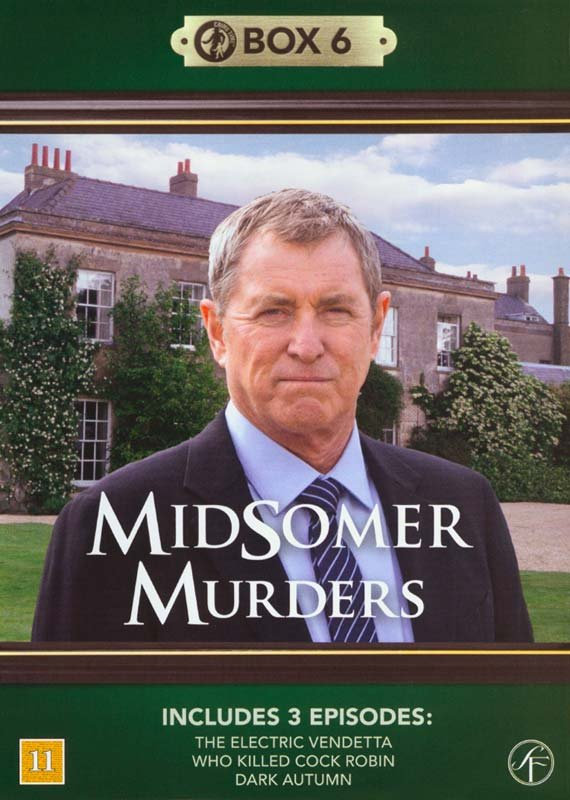 Image of   Kriminalkommissær Barnaby / Midsomer Murders - Box 6 - DVD - Tv-serie