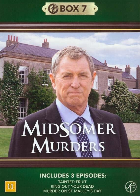 Image of   Kriminalkommissær Barnaby / Midsomer Murders - Box 7 - DVD - Tv-serie