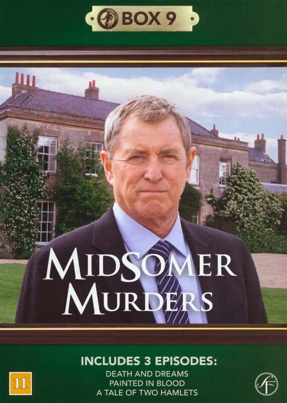 Image of   Kriminalkommissær Barnaby / Midsomer Murders - Box 9 - DVD - Tv-serie