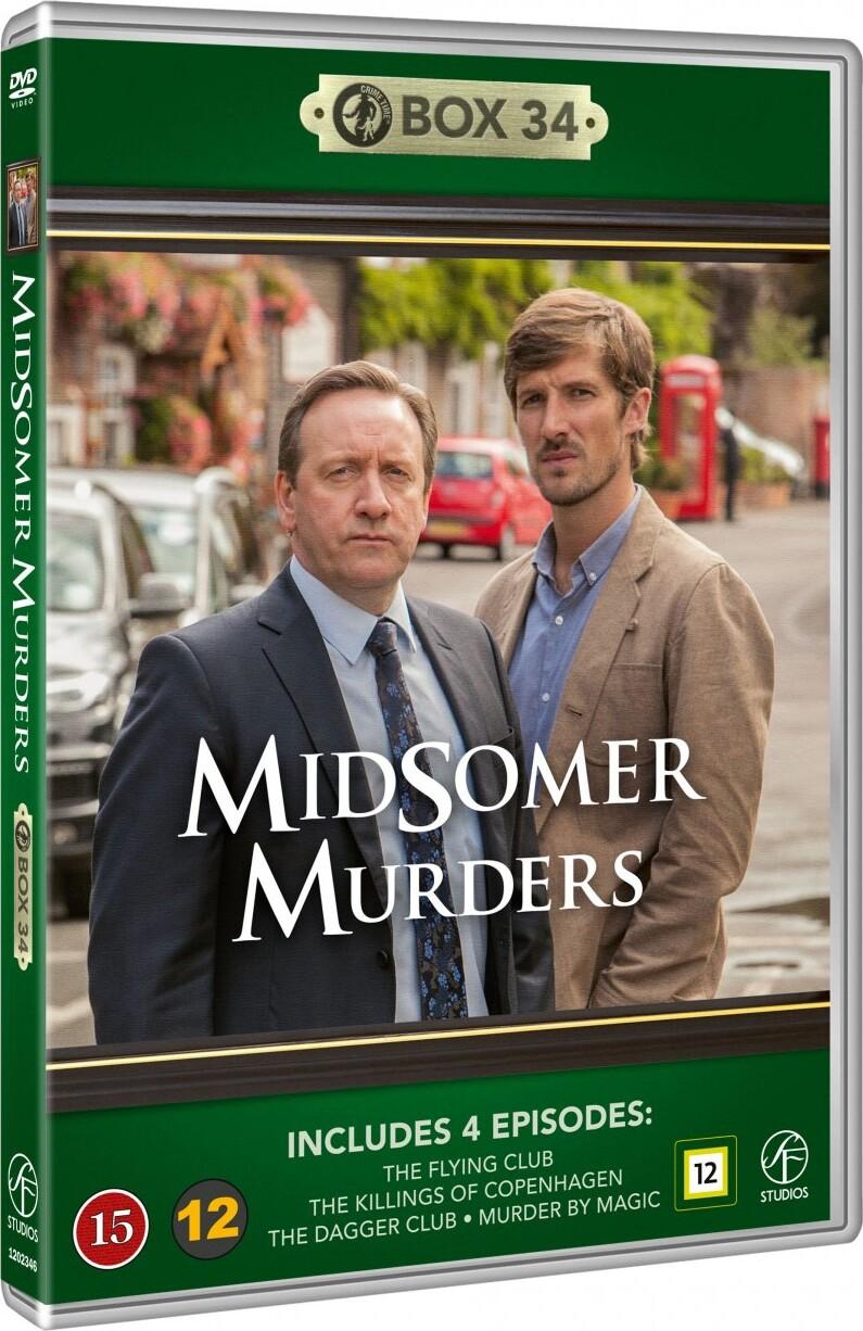 Image of   Kriminalkommissær Barnaby / Midsomer Murders - Box 34 - DVD - Tv-serie