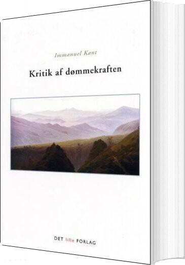 Image of   Kritik Af Dømmekraften - Kant - Bog