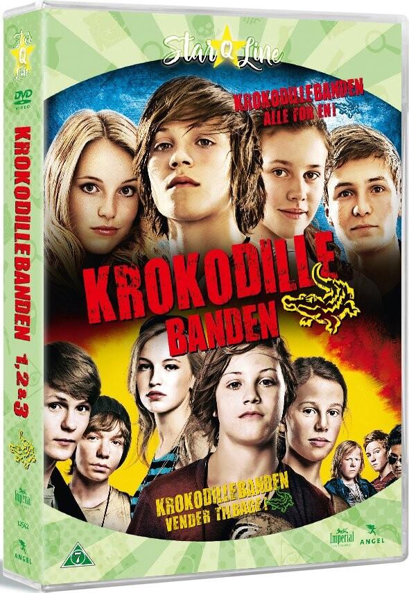 Billede af Krokodillebanden 1-3 - DVD - Film