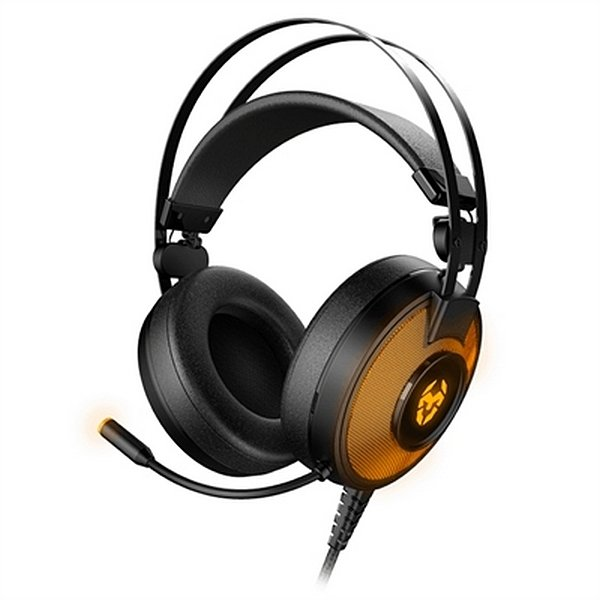 Image of   Krom Kayle 7.1 Usb Gaming Headset Med Mikrofon - Sort Orange