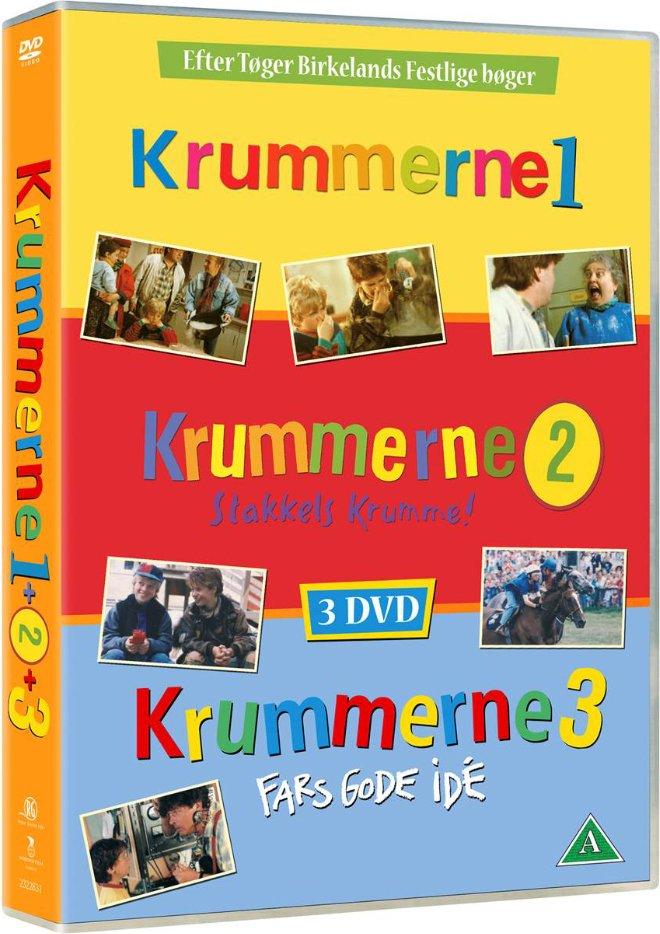 Billede af Krummerne // Krummerne 2 // Krummerne 3 - DVD - Film