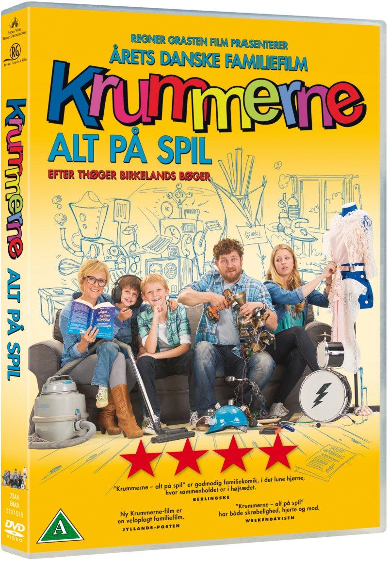 Billede af Krummerne: Alt På Spil - DVD - Film