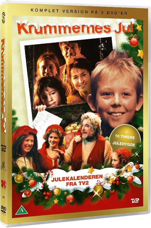 Krummernes Jul - Tv2 Julekalender - DVD - Tv-serie