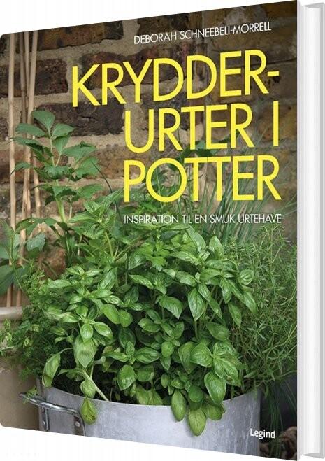 Image of   Krydderurter I Potter - Deborah Schneebeli-morrell - Bog
