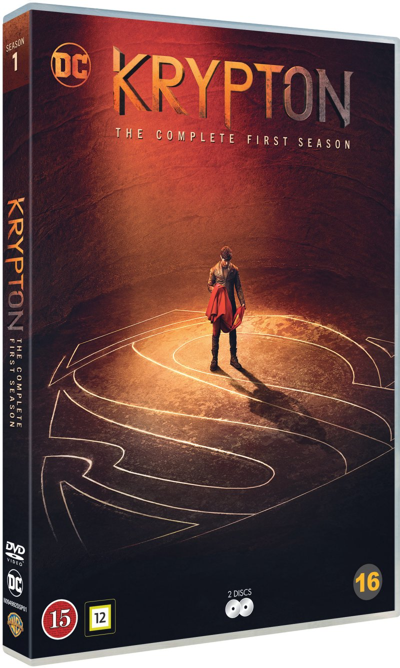 Image of   Krypton - Sæson 1 - DVD - Tv-serie