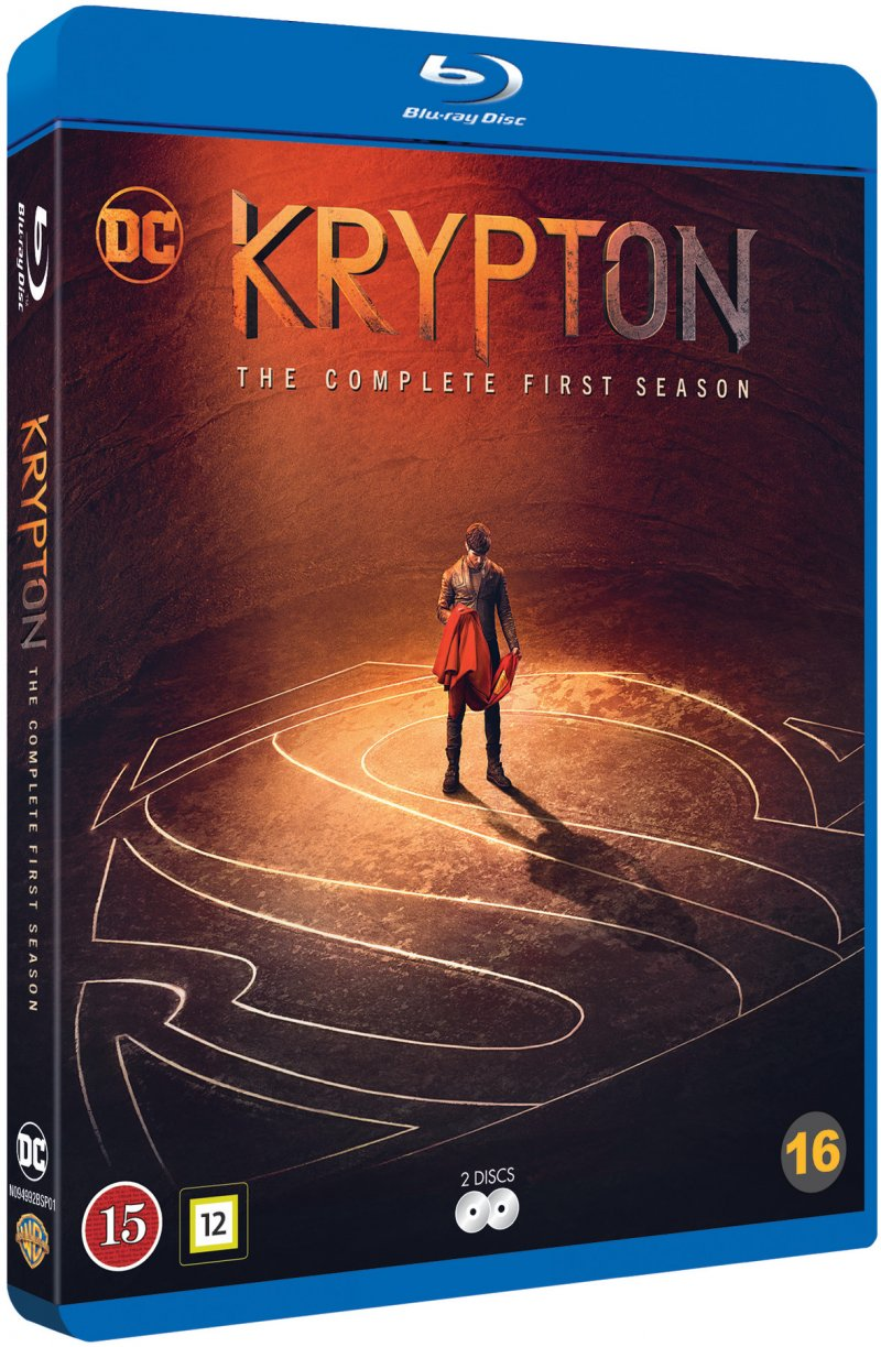Image of   Krypton - Sæson 1 - Blu-Ray - Tv-serie