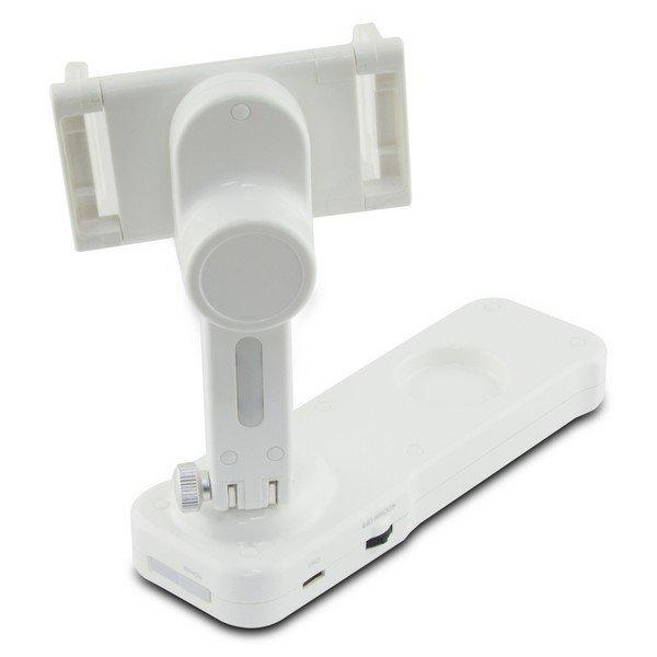 Image of   Ksix Steady Rec 2-axis Gimbal - Kamerastabilisator Til Smartphone - Hvid