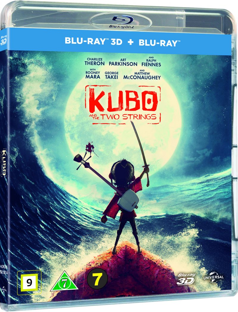 Image of   Kubo And The Two Strings / Kubo Den Modige Samurai (3d+2d) -