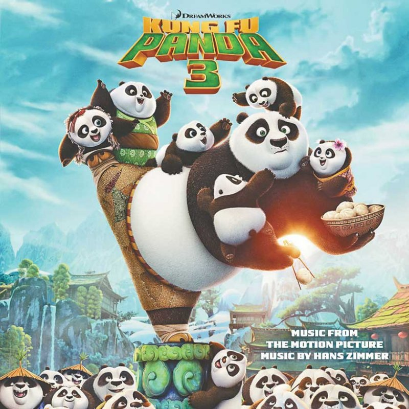 Image of   Kung Fu Panda 3 - Soundtrack - Vinyl / LP