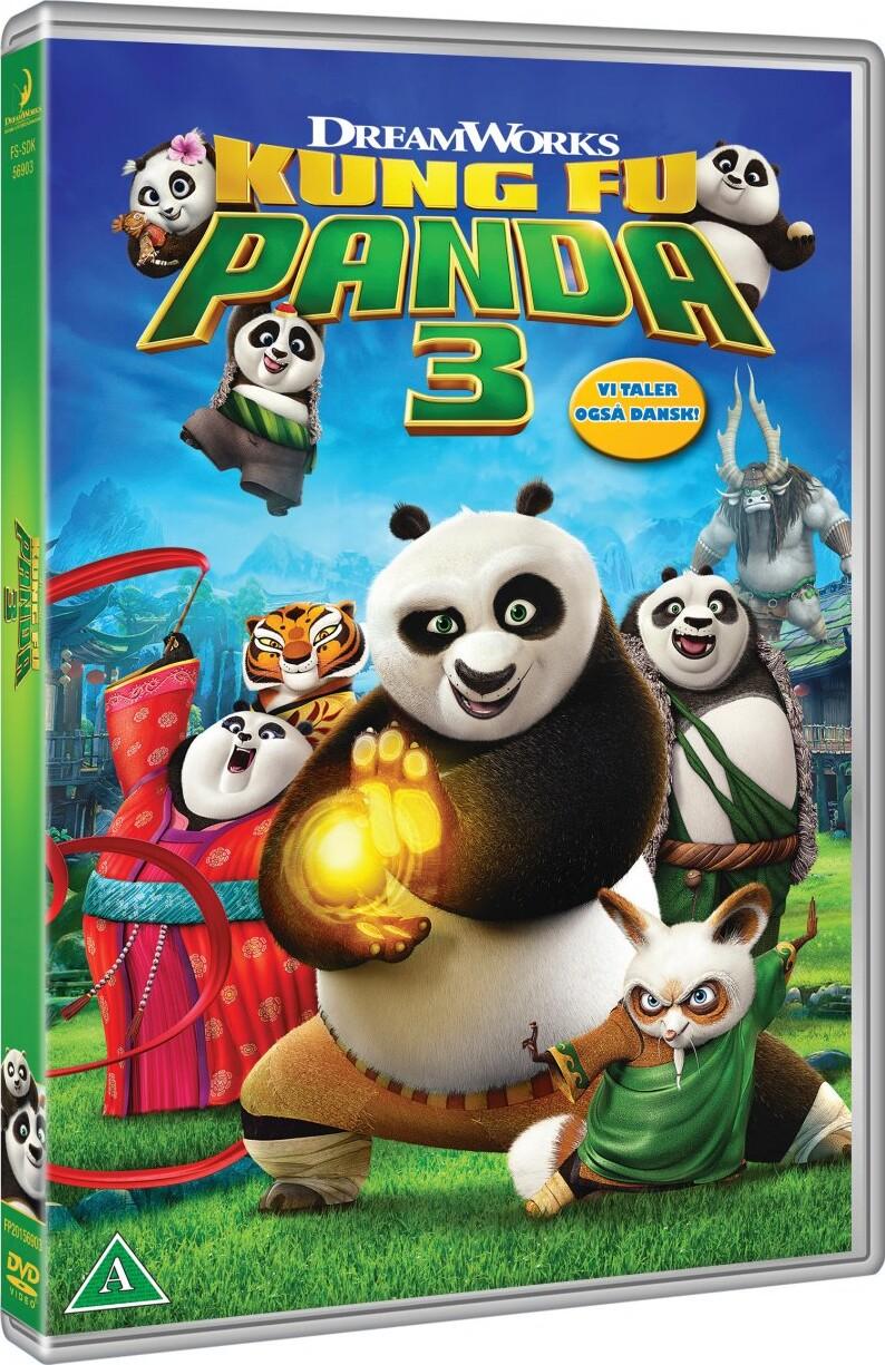Billede af Kung Fu Panda 3 - DVD - Film