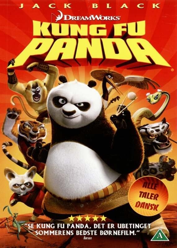 Billede af Kung Fu Panda - DVD - Film