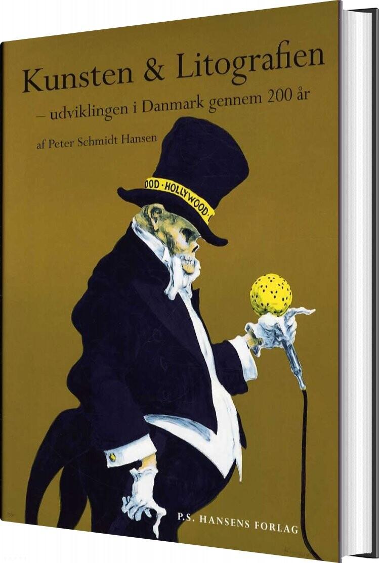 Image of   Kunsten & Litografien - Peter Schmidt Hansen - Bog