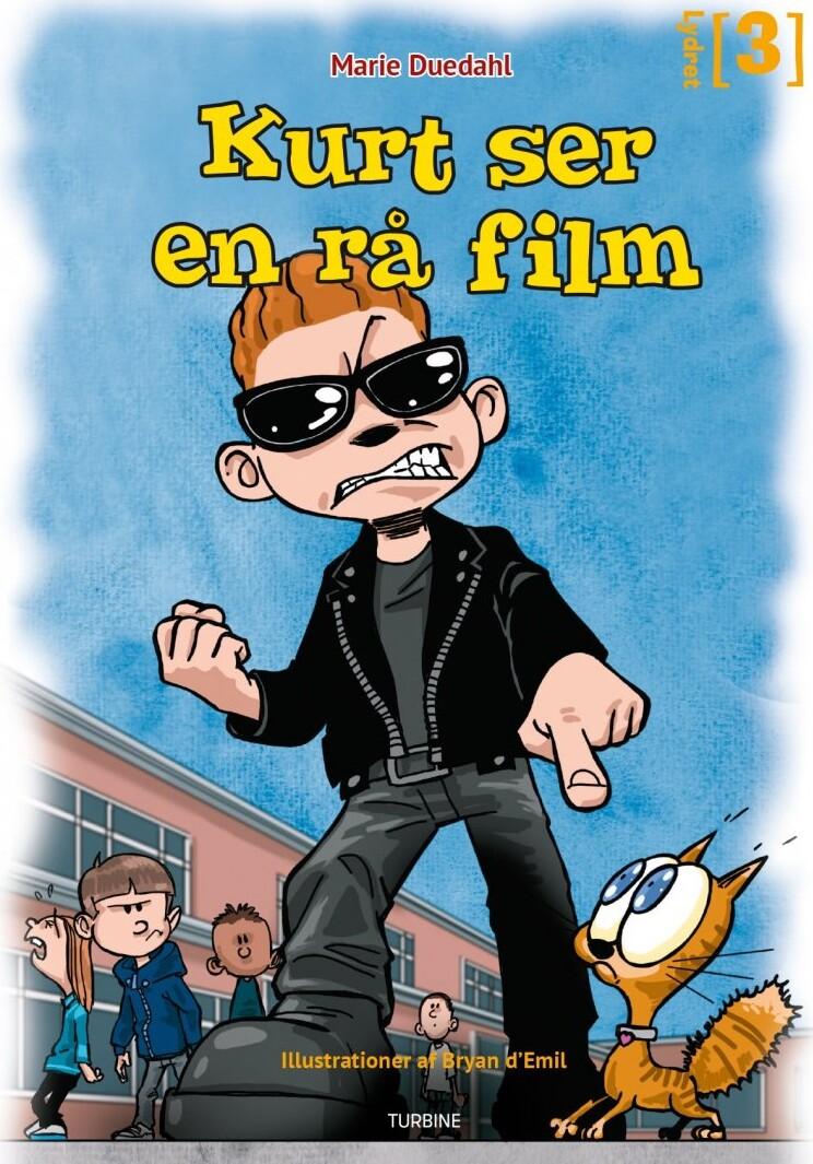 Kurt Ser En Rå Film - Marie Duedahl - Bog