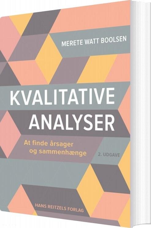 Image of   Kvalitative Analyser - Merete Watt Boolsen - Bog