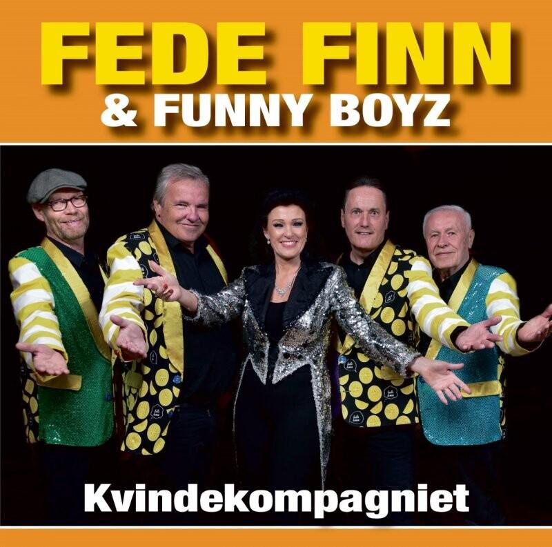 Image of   Fede Finn Og Funny Boyz - Kvindekompagniet - CD