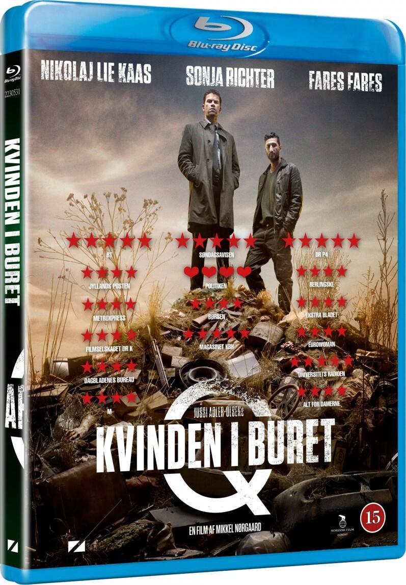 Image of   Afdeling Q: Kvinden I Buret - Blu-Ray