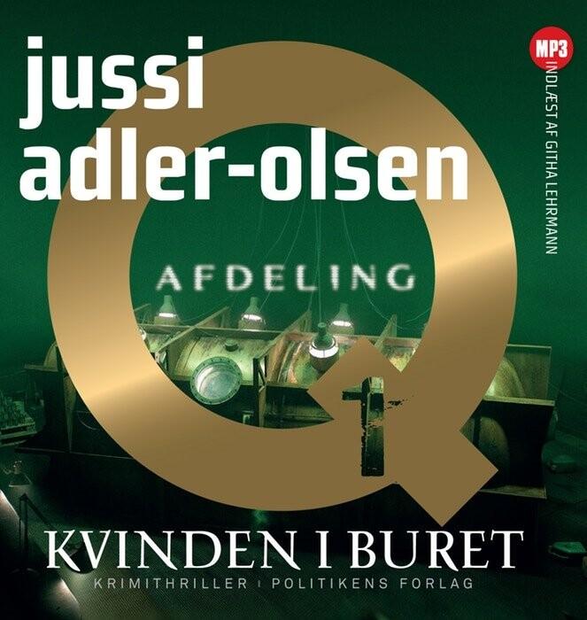 Image of   Kvinden I Buret - Mp3 - Jussi Adler-olsen - Cd Lydbog