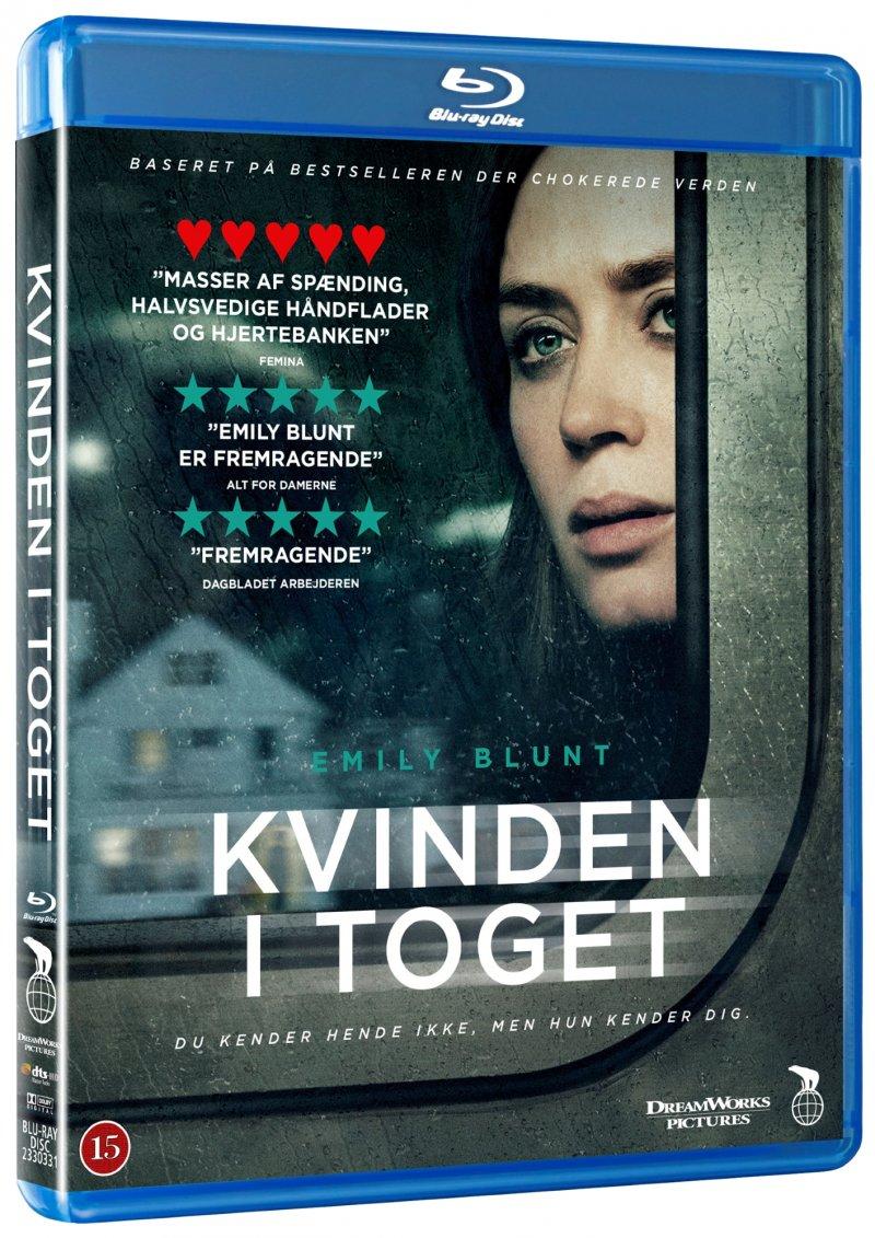Image of   Kvinden I Toget - Blu-Ray