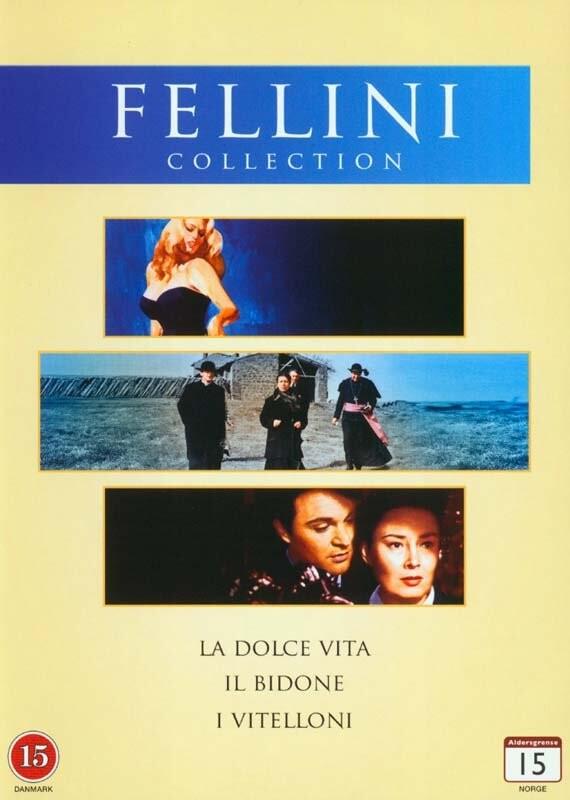 Billede af Det Søde Liv // Krapyl // Dagdriverne - Fellini Film - DVD - Film