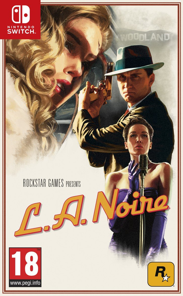 Image of   L.a. Noire - Nintendo Switch