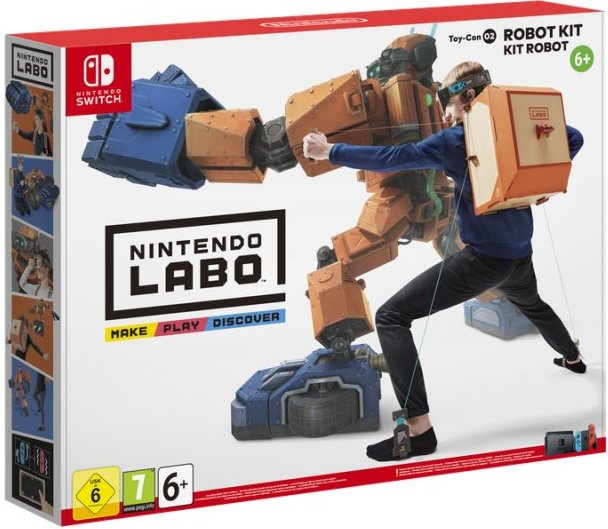 Image of   Nintendo Labo Robot Kit