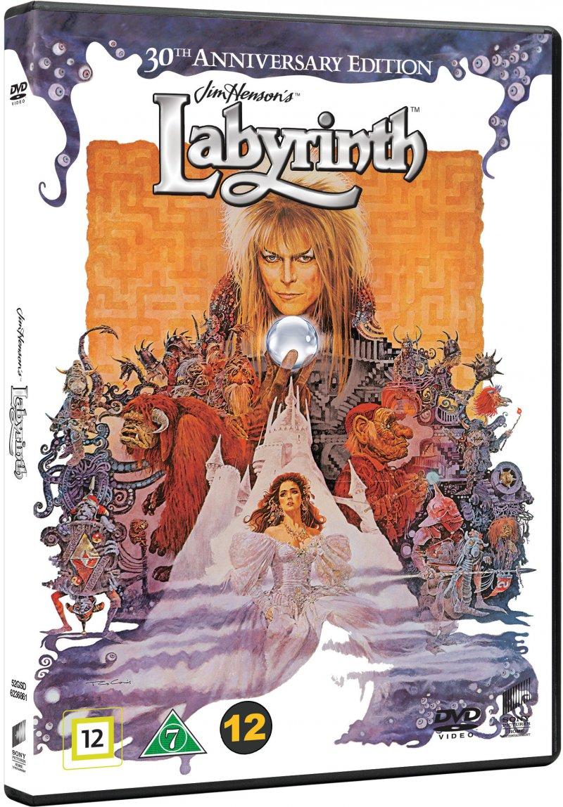 Billede af Labyrinth: 30 års Jubilæums Udgave - DVD - Film