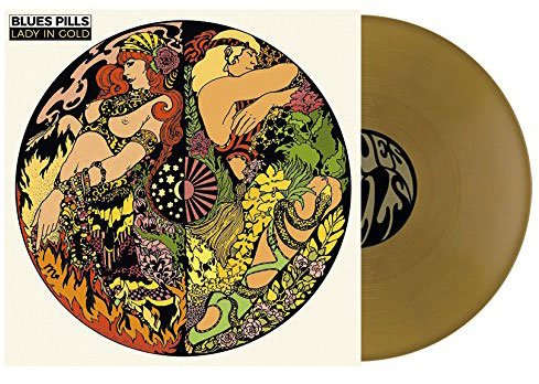 Image of   Blues Pills - Lady In Gold - Gold - Vinyl / LP