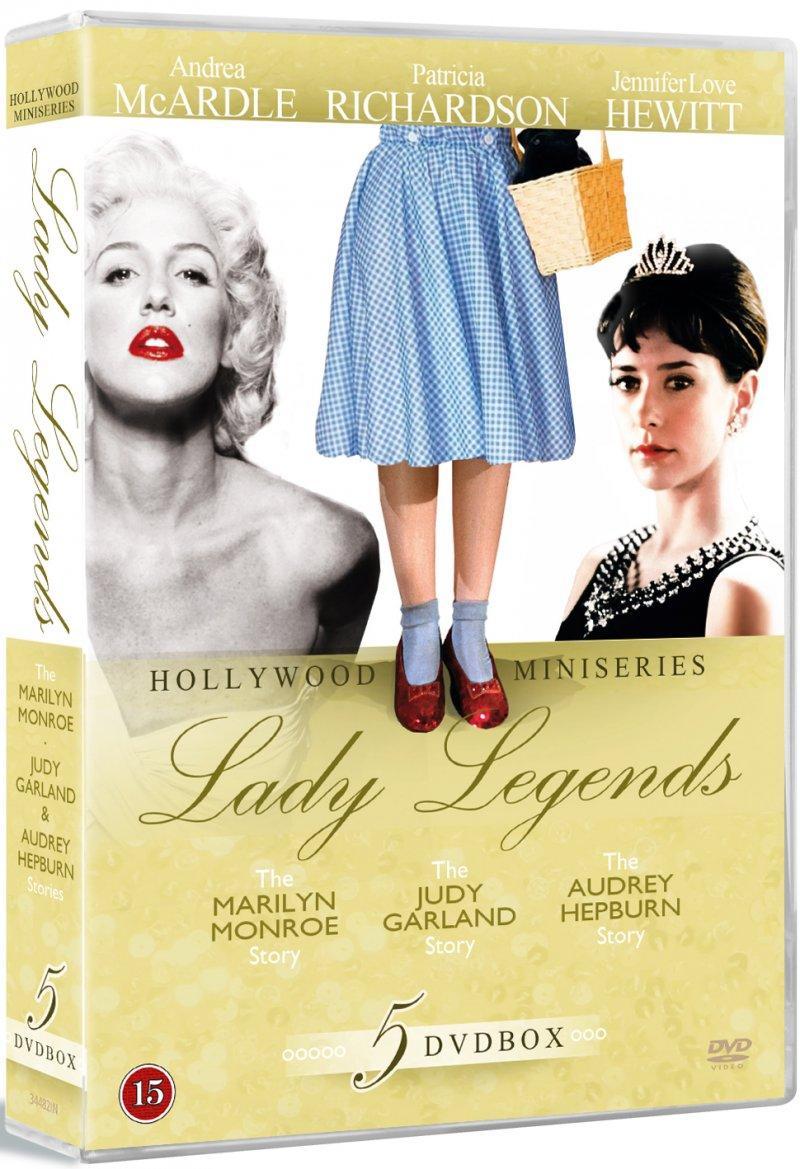 Billede af Lady Legends - Monroe / Garland / Hepburn - DVD - Film