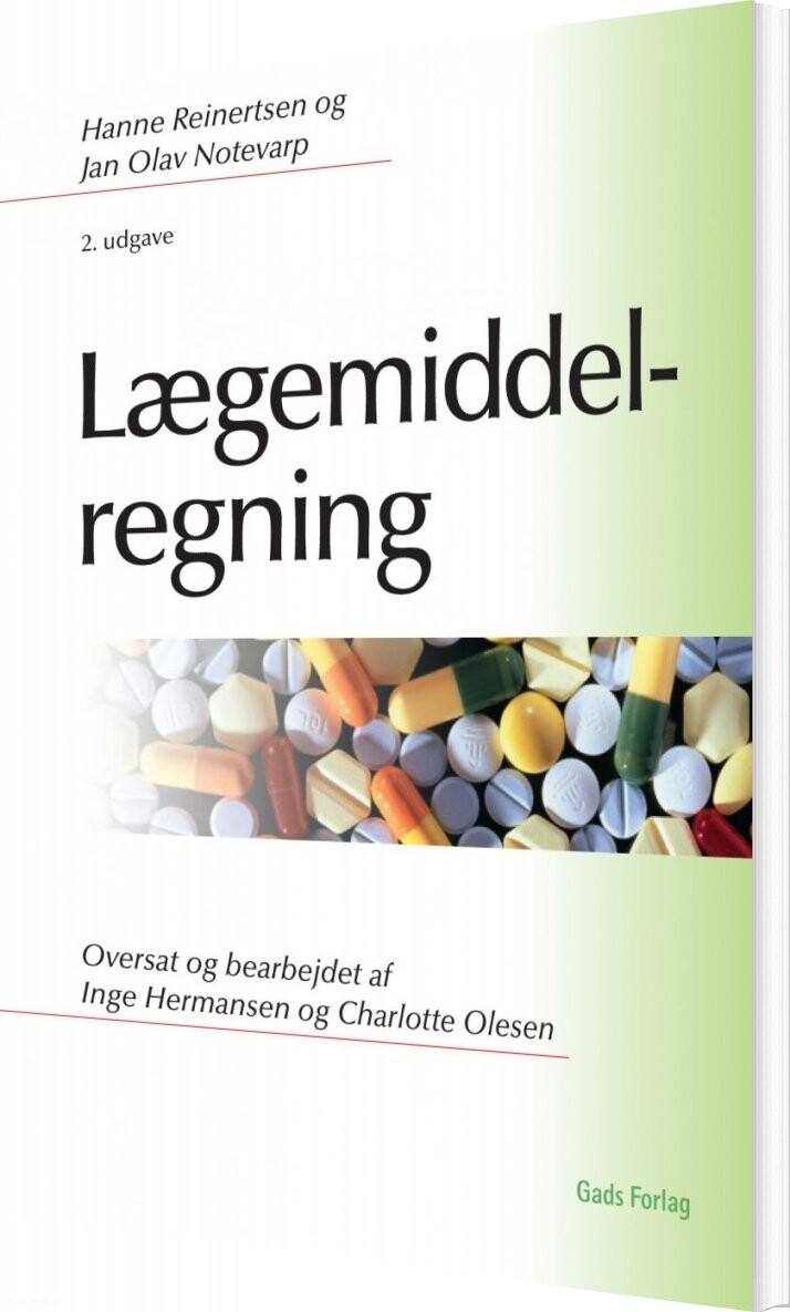 Image of   Lægemiddelregning - Hanne Reinertsen - Bog