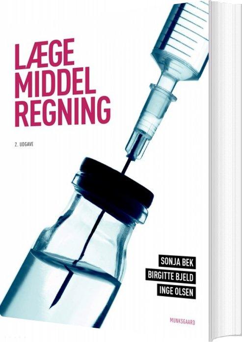 Image of   Lægemiddelregning - Inge Olsen - Bog