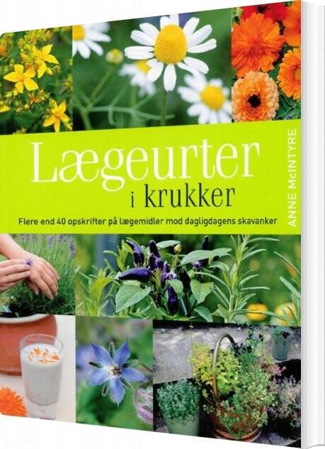 Image of   Lægeurter I Krukker - Anne Mcintyre - Bog