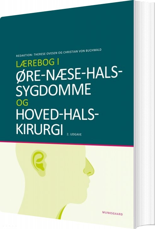 Image of   Lærebog I øre-næse-hals-sygdomme - Søren Berg - Bog