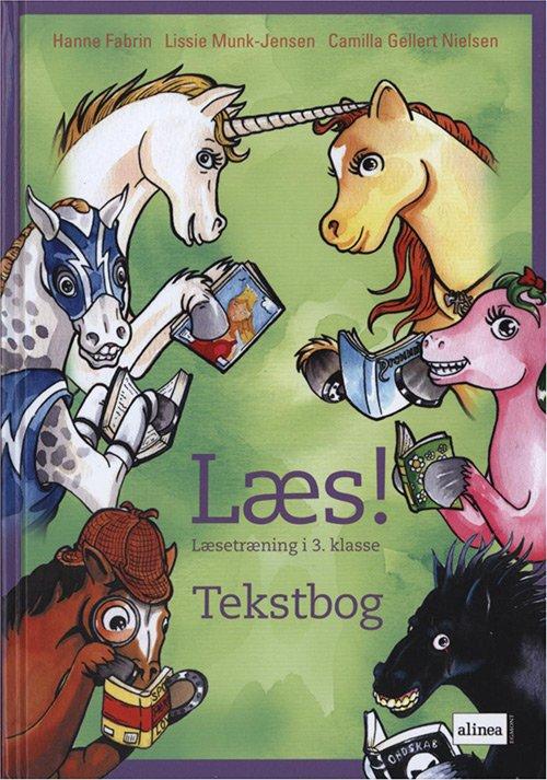 Image of   Læs! Læsetræning I 3.kl. Tekstbog - Camilla Gellert Nielsen - Bog