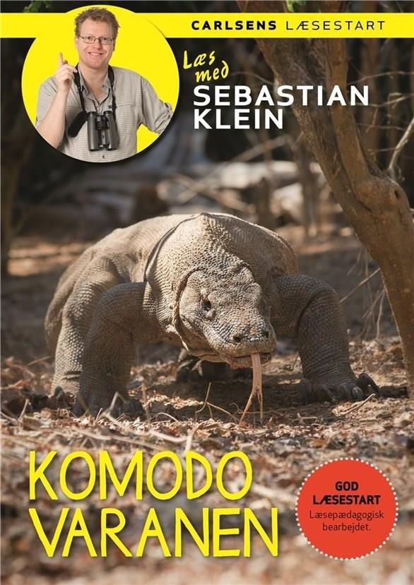 Image of   Læs Med Sebastian Klein: Komodovaranen - Sebastian Klein - Bog