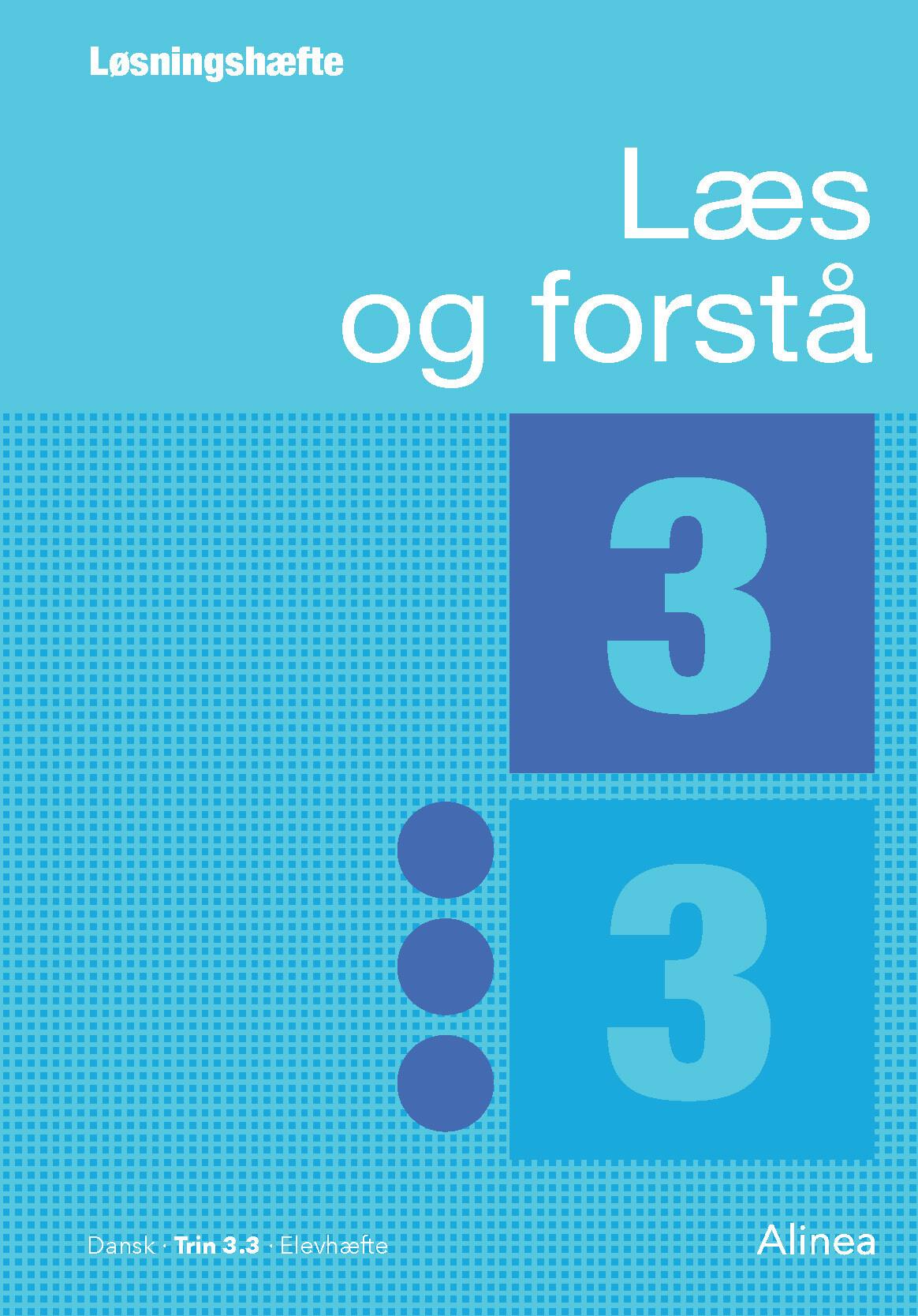 Læs Og Forstå, Løsningshæfte 3, 3 - Lavra Enevoldsen - Bog