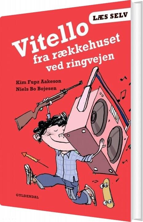 Læs Selv Vitello Fra Rækkehuset Ved Ringvejen - Kim Fupz Aakeson - Bog