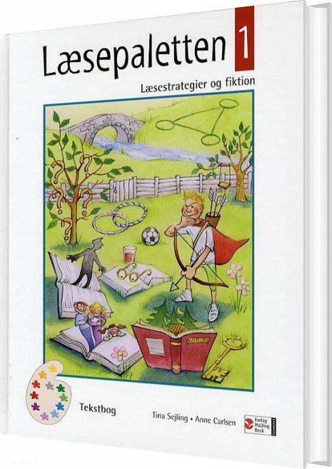 Image of   Læsepaletten 1, Tekstbog - Tina Sejling - Bog