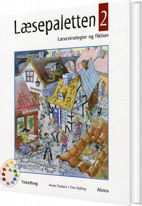 Image of   Læsepaletten 2, Tekstbog 5.-6 Kl - Tina Sejling - Bog